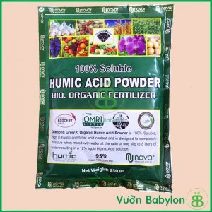 Phân Hữu Cơ Acid Humic Kích Rễ, Cải Tạo Đất Nhập Khẩu Mỹ 250Gr